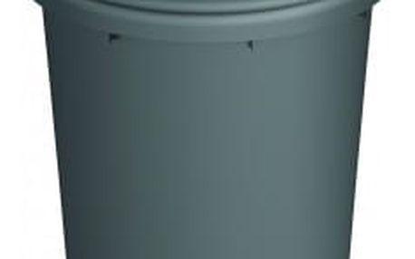 Koš na odpad Pivot 60 l - šedý