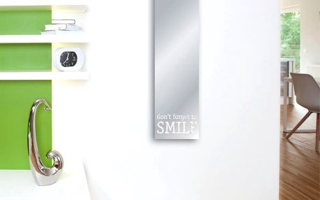 Zrcadlo Eurographics Don't Forget To Smile,30x120 cm