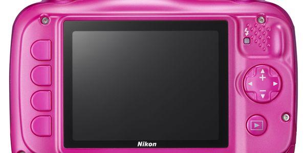 Digitální fotoaparát Nikon Coolpix W100 BACKPACK KIT (VQA012K001) růžový + DOPRAVA ZDARMA5