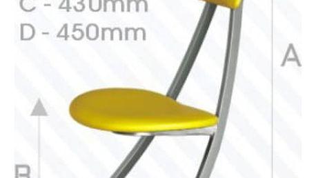 Kovová židle STRAKOŠ Hit46