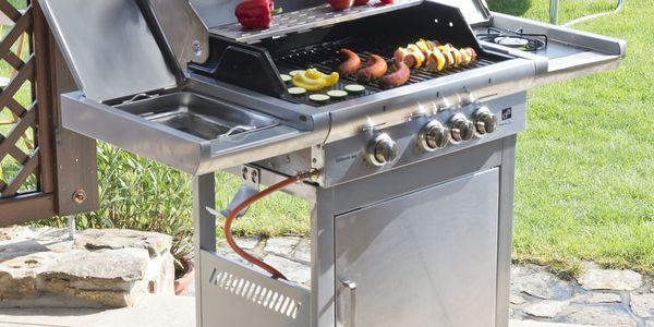 Gril zahradní plynový G21 California BBQ Premium Line, 4 hořáky5