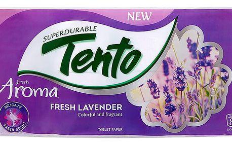 Tento Aroma toaletní papír Fresh Lavender, 2vrstvý 8 rolí