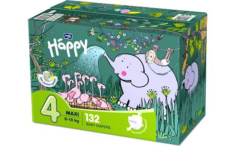 Bella Baby Happy Maxi Box velikost 4 2x 66 ks