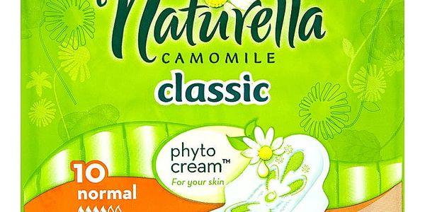 Naturella Camomile Classic normal hygienické vložky s jemnou vůní 10 ks/bal.2