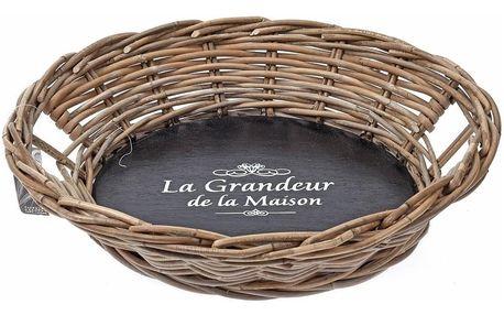 EH Excellent Houseware Košík na chléb, pečivo, ovoce 47x10 cm