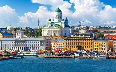 Pobaltí, Helsinky a krásy Skandinávského poloostrova v 9 dnech se snídaní