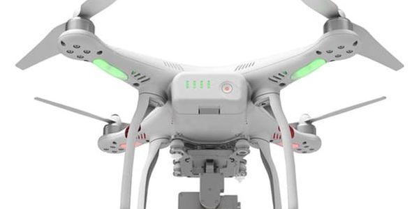 Dron DJI Phantom 3 Standard, 2,7K Ultra HD kamera (DJI0326) bílý (DJI0326)