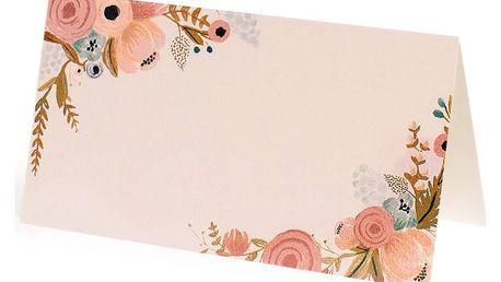 Rifle Paper Co. Papírové jmenovky Simone - 8 ks, růžová barva, papír