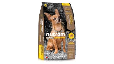 NUTRAM Total Grain Free Small Breed Salmon Trout Dog 6,8 kg