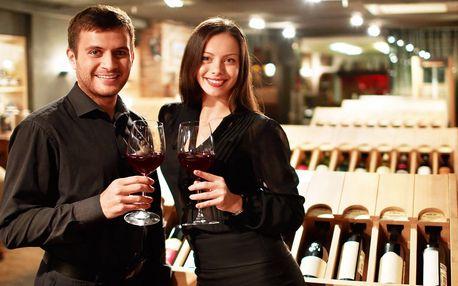 Privátní degustace vín pro 4 osoby: 8 vzorků