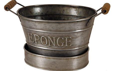 Držák na mycí houbu Antic Line Eponge Zinc