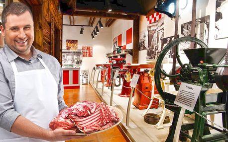 Exkurze v Muzeu řeznictví vč. pohoštění