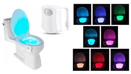 LED osvětlení toalety - s pohybovým senzorem