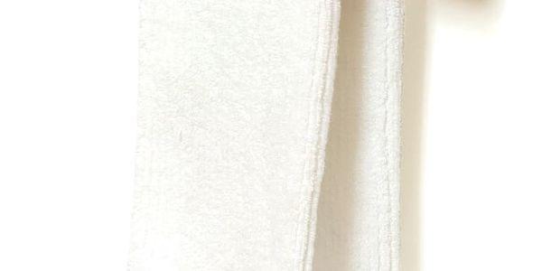 Dřevěný nástěnný držák na osušky z dubového dřeva Wireworks Mezza, délka 28cm
