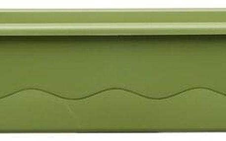 Plastia SamPlastia Mareta samozavlažovací truhlík 60 cm + hák, zelená