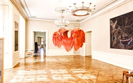 Vstup na přehlídku výtvarného umění ART PRAGUE