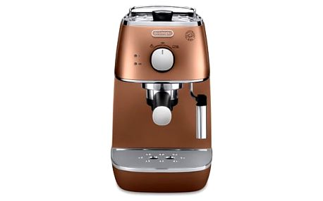 Espresso DeLonghi Distinta ECI 341.CP měděné
