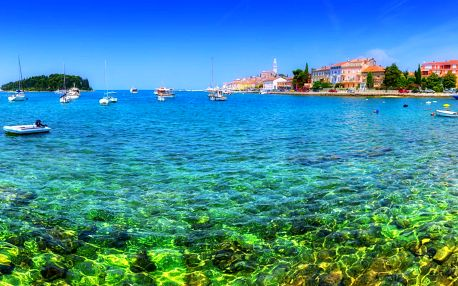 1denní koupání u moře na Istrii