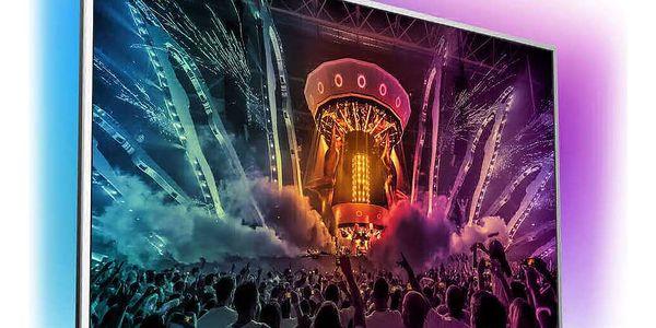 Televize Philips 49PUS6561 stříbrná + DOPRAVA ZDARMA4