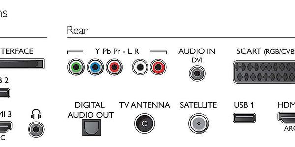 Televize Philips 49PUS6561 stříbrná + DOPRAVA ZDARMA5