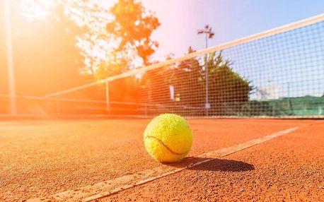 Tenisové kurty u metra Kobylisy pro dva hráče