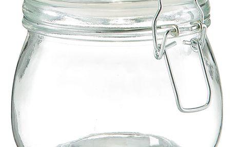 Skleněné nádoby na potraviny, nádoba s víkem, 500 ml, ZELLER