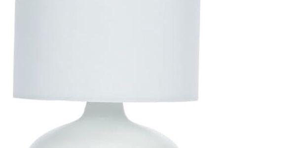 Lampička stolní, keramická - barva bílá Home Styling Collection