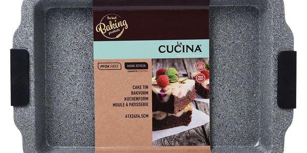 La Cucina Obdélníková forma na pečení - uhlíková ocel2