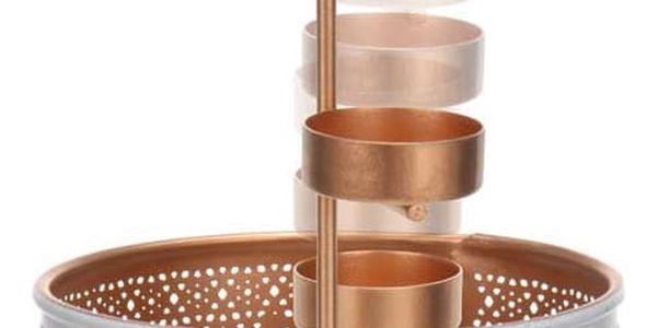 Home Styling Collection Stojan na čajové svíčky, lampion 30 cm2