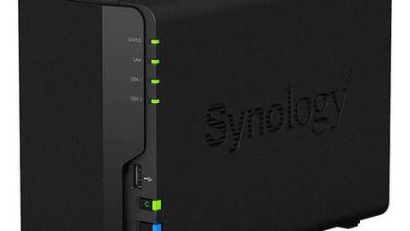 Datové uložiště (NAS) Synology DS218 (DS218) černé