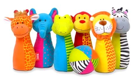 Zvířecí kuželky Fiesta crafts