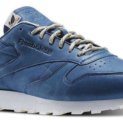 Boty Reebok CL Leather Eco botanical blue-chalk 45,5