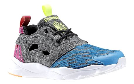 Boty Reebok Furylite Contemporary blue-coal-pink-yllw 37
