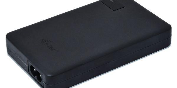 Napájecí adaptér i-tec SMART Charger, USB-C (60W), USB (10W) (CHARGER-C60W) černý3