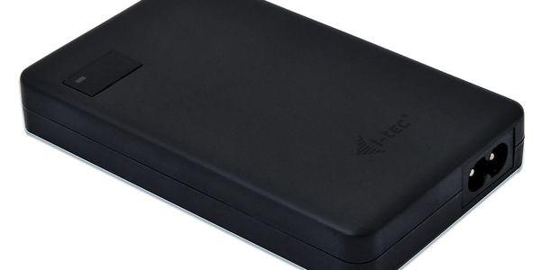 Napájecí adaptér i-tec SMART Charger, USB-C (60W), USB (10W) (CHARGER-C60W) černý5
