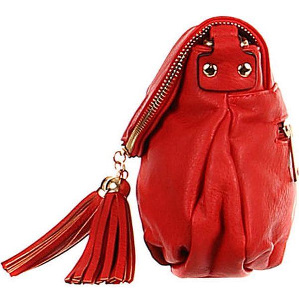 Dámská mini kabelka přes rameno bílá3