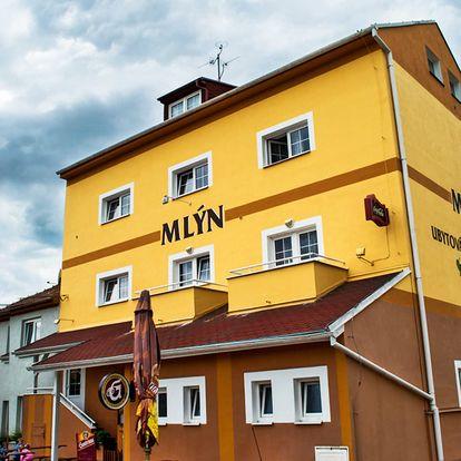 Penzion Mlýn na jižní Moravě v Bořeticích s možností degustace vína