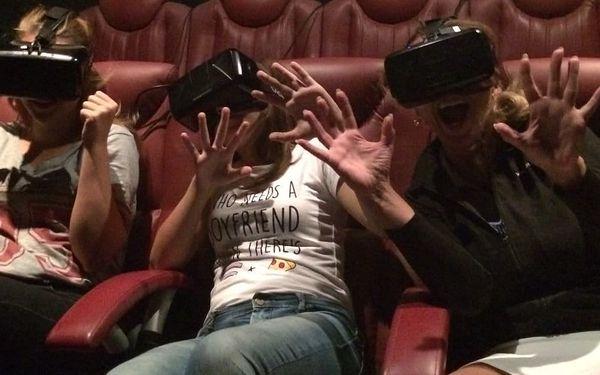 Vstupenka do 5D kina: Sledujte film dle výběru všemi smysly4