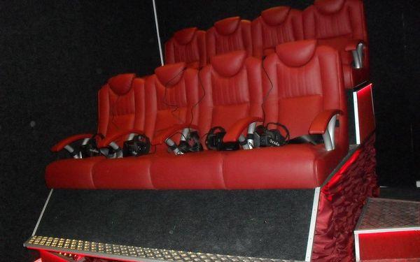 Vstupenka do 5D kina: Sledujte film dle výběru všemi smysly5