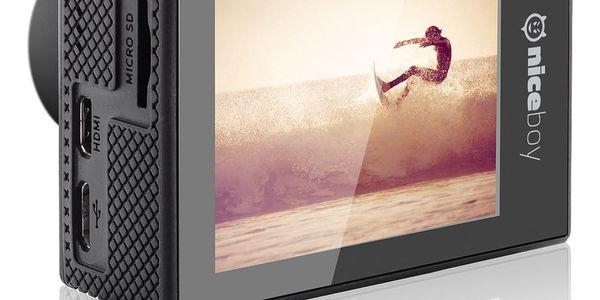Outdoorová kamera Niceboy VEGA5 (Vega-5) černá Power Bank Niceboy 10000mAh černá v hodnotě 599 Kč + DOPRAVA ZDARMA4