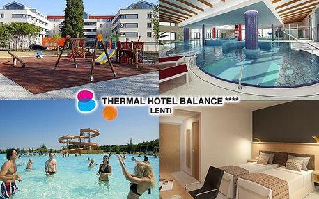 Maďarsko, Thermal Hotel Balance propojeném s termálními lázněmi a polopenzí, po celý rok