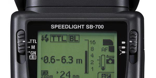 Blesk Nikon SB-700 černý + DOPRAVA ZDARMA3