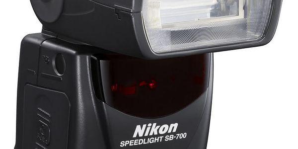 Blesk Nikon SB-700 černý + DOPRAVA ZDARMA4