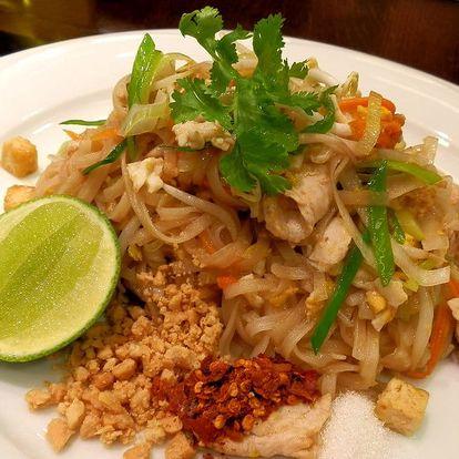 Thajská kuchyně + láhev francouzského vína ZDARMA