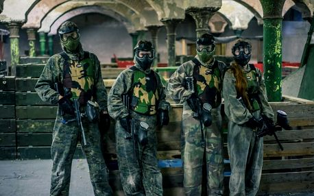 Paintball bez barev