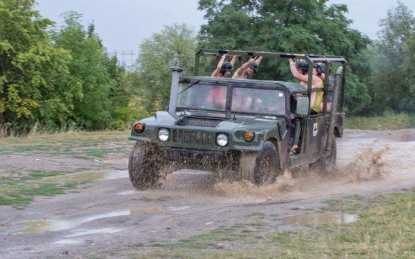 Divoký Hummer 2 v 1, Praha 9, 3 osoby, 30 minut2