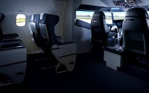 Simulátor dopravního letadla Boeing 7372