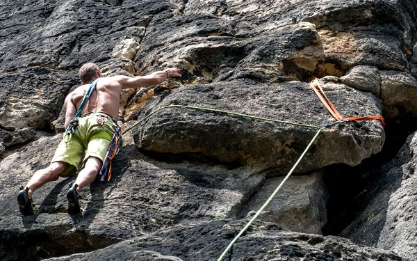 Jednodenní kurz lezení na skalách5
