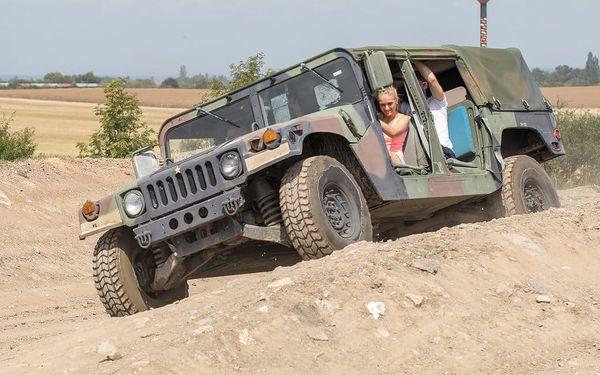 Projížďka ve vojenském Hummeru4