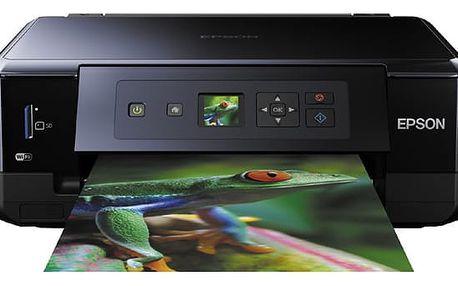 Tiskárna multifunkční Epson Expression Premium XP-530 černá (C11CE81402CE)